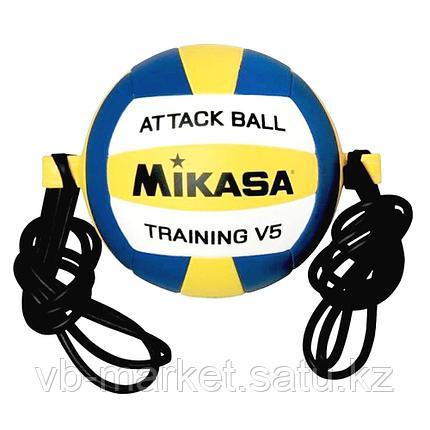 Волейбольный мяч на растяжках MIKASA V5 ATTR-WYB, фото 2