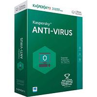 Kaspersky Anti-Virus 2018 Box. 2-Desktop 1 year Renewal