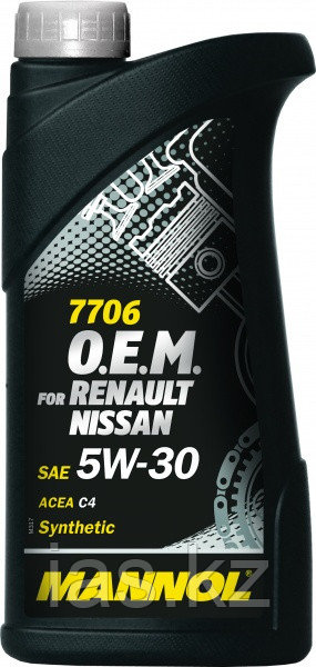 Моторное масло MANNOL O.E.M. for Renault Nissan C4 5w30 1 литр