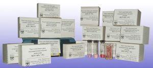 Тест-набор МЭТ-Акт.хлор-РС: Активный хлор, мг/дм3: 0-0,1-0,2-0,5-0,8-1,2, (50опред.)