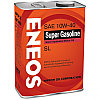 Моторное масло ENEOS SUPER GASOLINE 10w-40 semi-synthetic 4 л