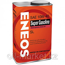 Моторное масло ENEOS SUPER GASOLINE 10w-40 semi-synthetic 0.94 л