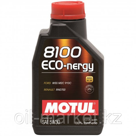 Моторное масло MOTUL 8100 Eco-nergy 5W-30 1л, фото 2