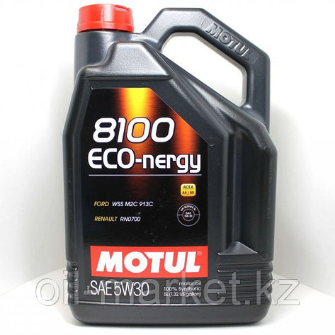 Моторное масло MOTUL 8100 Eco-nergy 5W-30 5л, фото 2