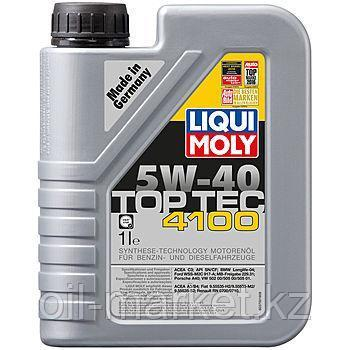Моторное масло LIQUI MOLY TOP TEC 4100 5W40 1л