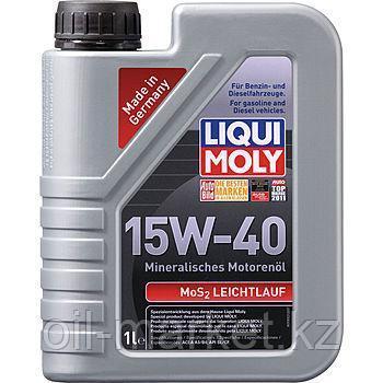 Моторное масло LIQUI MOLY MOS2-LEICHTLAUF 15W40 1л, фото 2