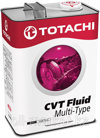 Масло для вариатора TOTACHI ATF CVT MULTI-TYPE    4L, фото 2