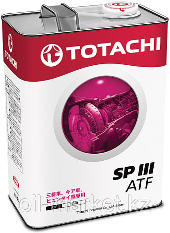 Масло для АКПП TOTACHI ATF SPIII  4L, фото 2