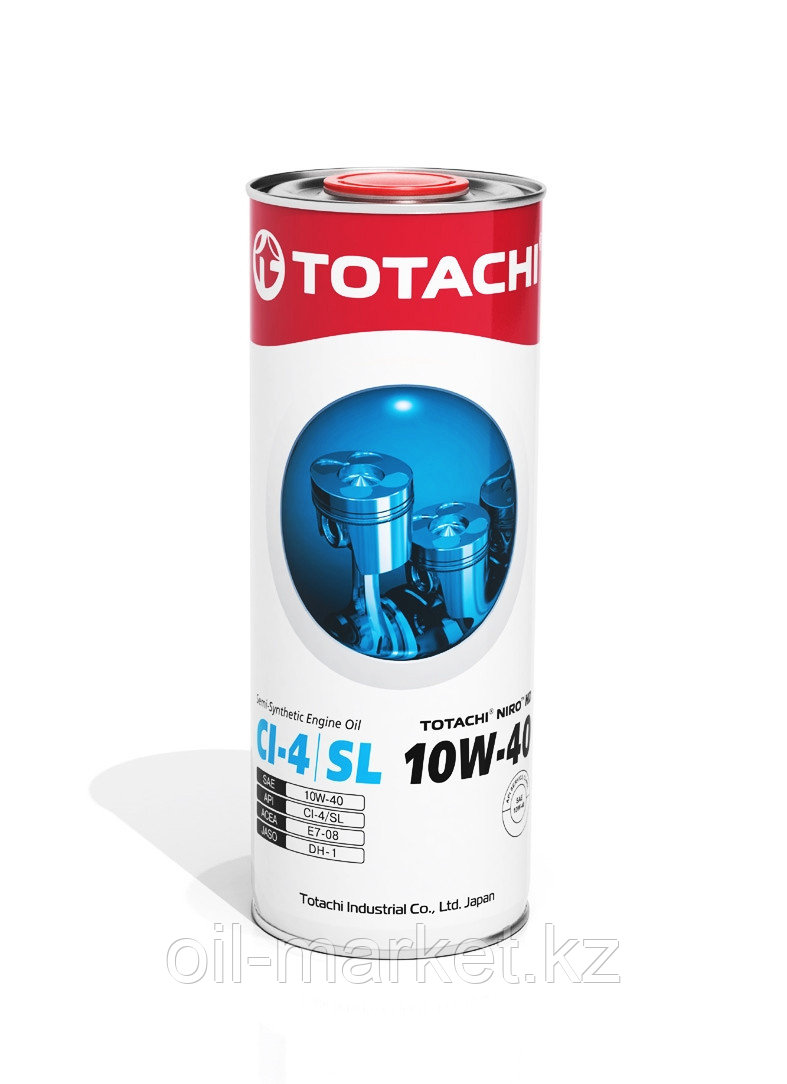 Моторное масло TOTACHI NIRO HD SEMI-SYNTHETIC API CI-4/SL 10W-40 1L