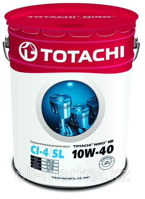 Моторное масло TOTACHI NIRO HD SEMI-SYNTHETIC API CI-4/SL 10W-40 19L