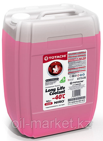 Антифриз TOTACHI NIRO LONG LIFE COOLANT Red 10л. (Красный), фото 2