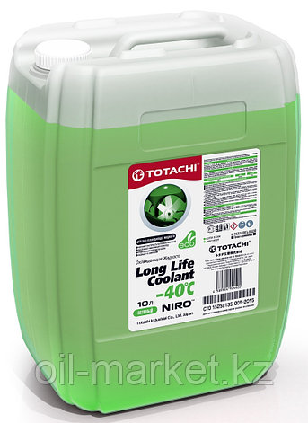 Антифриз TOTACHI NIRO LONG LIFE COOLANT Green 10л. (Зеленый), фото 2