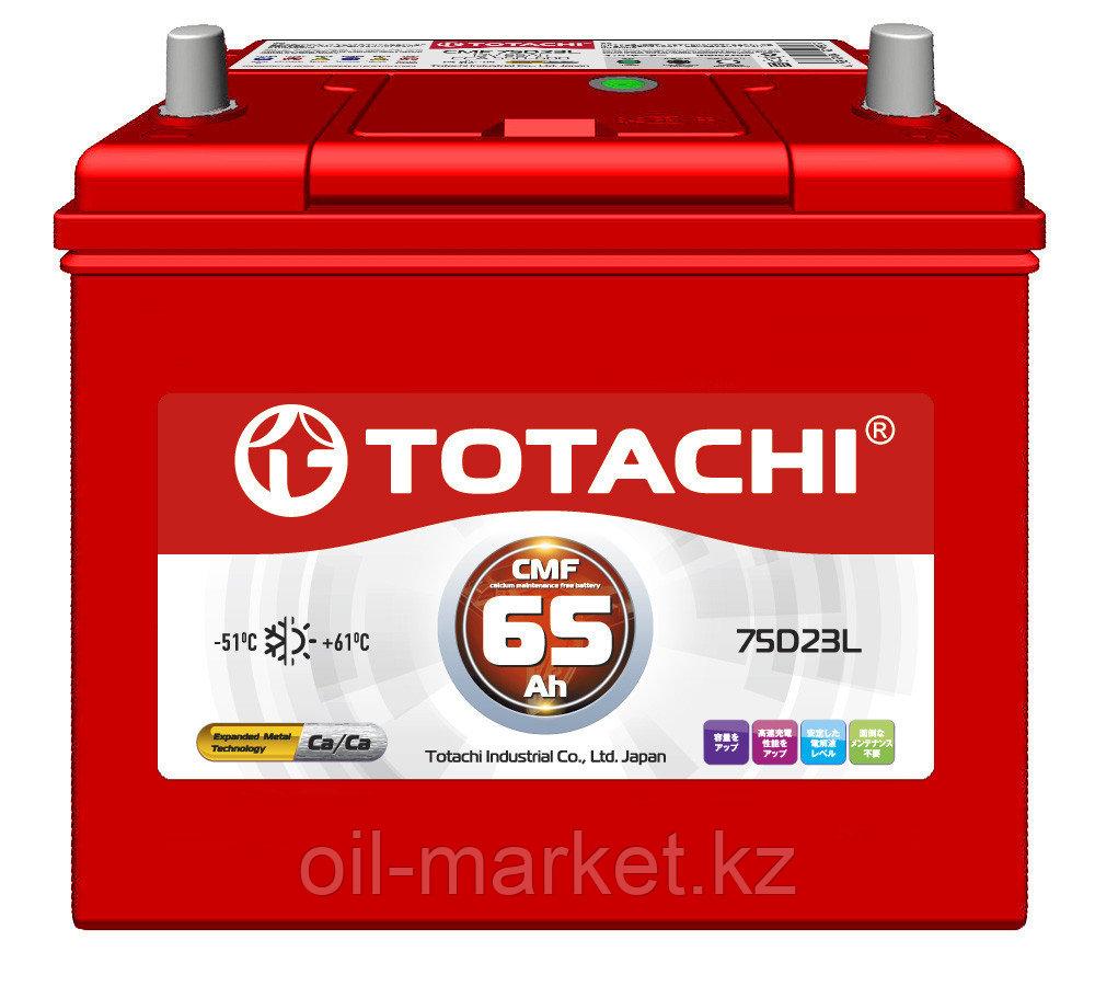 Аккумулятор TOTACHI 65 А/ч CMF - 75D23L