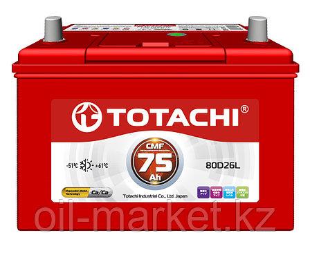 Аккумулятор TOTACHI 75 А/ч CMF - 80D26L, фото 2