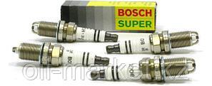 BOSCH Комплект свечей зажигания DOUBLE PLATINUM FR 7 KPP 33+ (+50), 4шт, фото 2