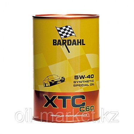 Моторное масло BARDAHL XTC C60 5W-40 1 л, фото 2