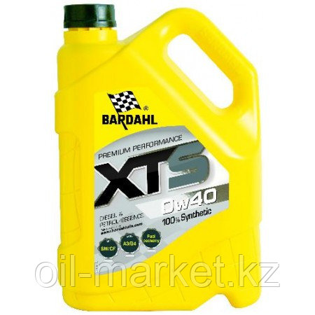 Моторное масло BARDAHL XTS 0W-40 5 л