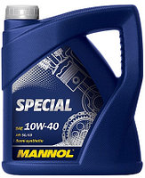 Моторное масло MANNOL Special 10w40 4 литра