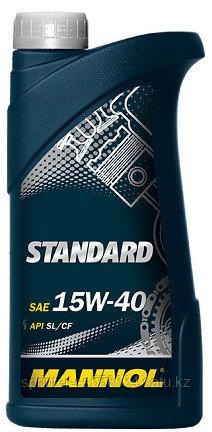 Моторное масло MANNOL Standard 15w40 1 литр