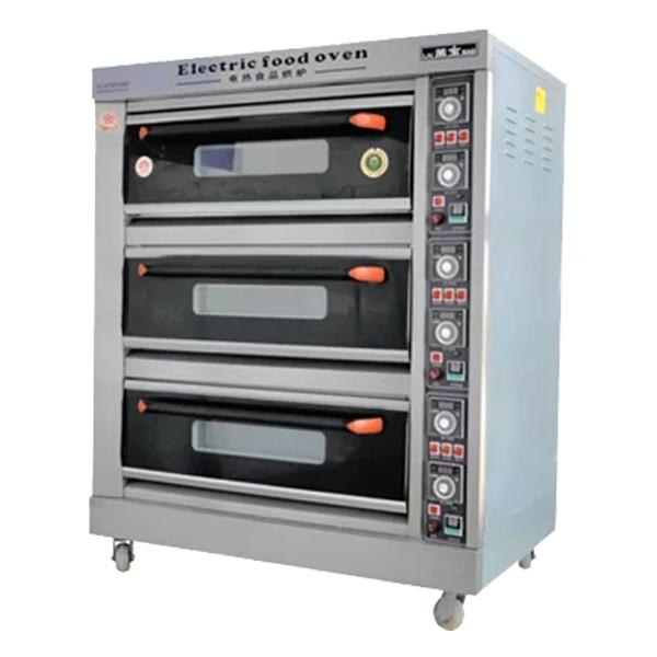 Пекарский шкаф промышленный 3-секционный электрический