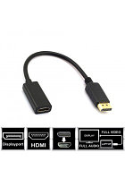Конвертер DisplayPort на HDMI adapter