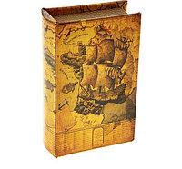 """Сейф-книга кожа """"Морской круиз"""".  5 см × 13 см × 21 см, фото 1"""
