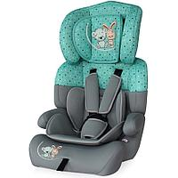 Детское автокресло 9-36 кг Lorelli Junior Plus Grey&Green Best Friends 1704