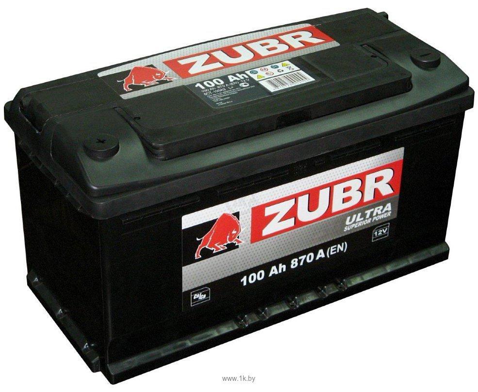 Аккумулятор ZUBR Ultra CT-100 для газелей, микроавтобусов и малотоннажных грузовиков