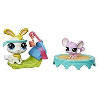 "Hasbro Littlest Pet Shop Набор ""Спорт-зал"" (1 серия)"