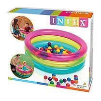Надувной бассейн с шариками Intex 48674 , фото 3