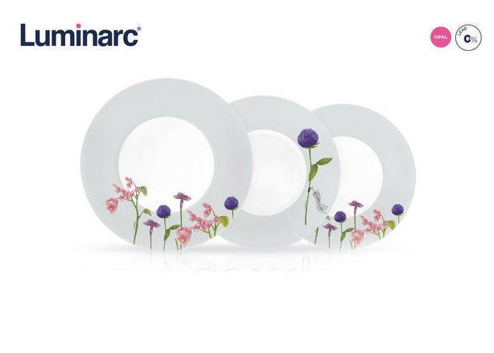 Столовый сервиз Luminarc Rozana Trefle 19 предметов на 6 персон