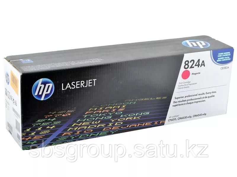 Картридж HP CB383A, 824A (magenta) ORIGINAL для HP Color LaserJet CM6030/f/CM6040/f/CP6015dn (up to 21.000 pag