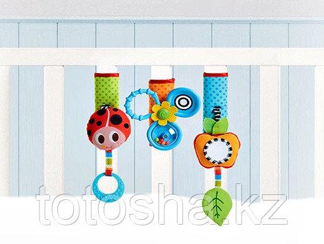 Tiny Love Игрушки для кроватки и коляски Веселая игра (на липучке)