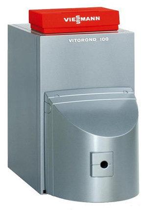 Котёл комбинированный низкотемпературный Viessmann VITOROND 100 с контроллером Vitotronic 100, 15 кВт (без горелки), фото 2