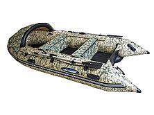 Моторная лодка ПВХ GLADIATOR E 420 CAMO Air с НДНД, фото 3