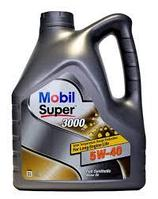 Моторное масло Mobil Super 3000 5w40 4 литра