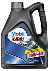 Моторное масло Mobil Super 2000 10w40 4 литра