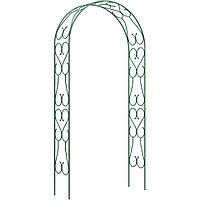 Садовая арка разборная «Узорная широкая» 2,5х0,38х1,2м, Клевер-С, 69125
