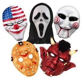 Маски на Хэллоуин, страшные маски (halloween)