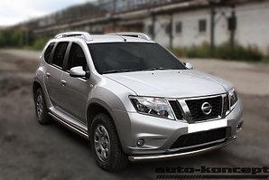 Защита передняя D 60,3 Nissan Terrano 2014-