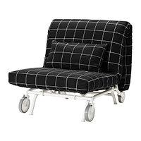 Кресло-кровать ИКЕА/ПС ЛЁВОС черный, фото 1