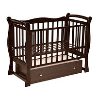 Детская кроватка Антел Северянка 1 Шоколад