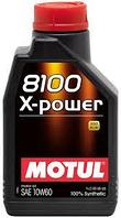 Моторное масло Motul 8100 X-Power 10w60 1 литр