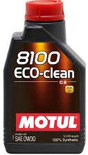 Моторное масло Motul 8100 Eco-Clean 0w30 1 литр