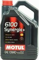 Моторное масло Motul 6100 Synergie + 10w40 5 литров