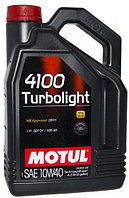 Моторное масло Motul 4100 Turbolight 10w40 4 литра