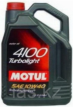 Моторное масло Motul 4100 Turbolight 10w40 5 литров