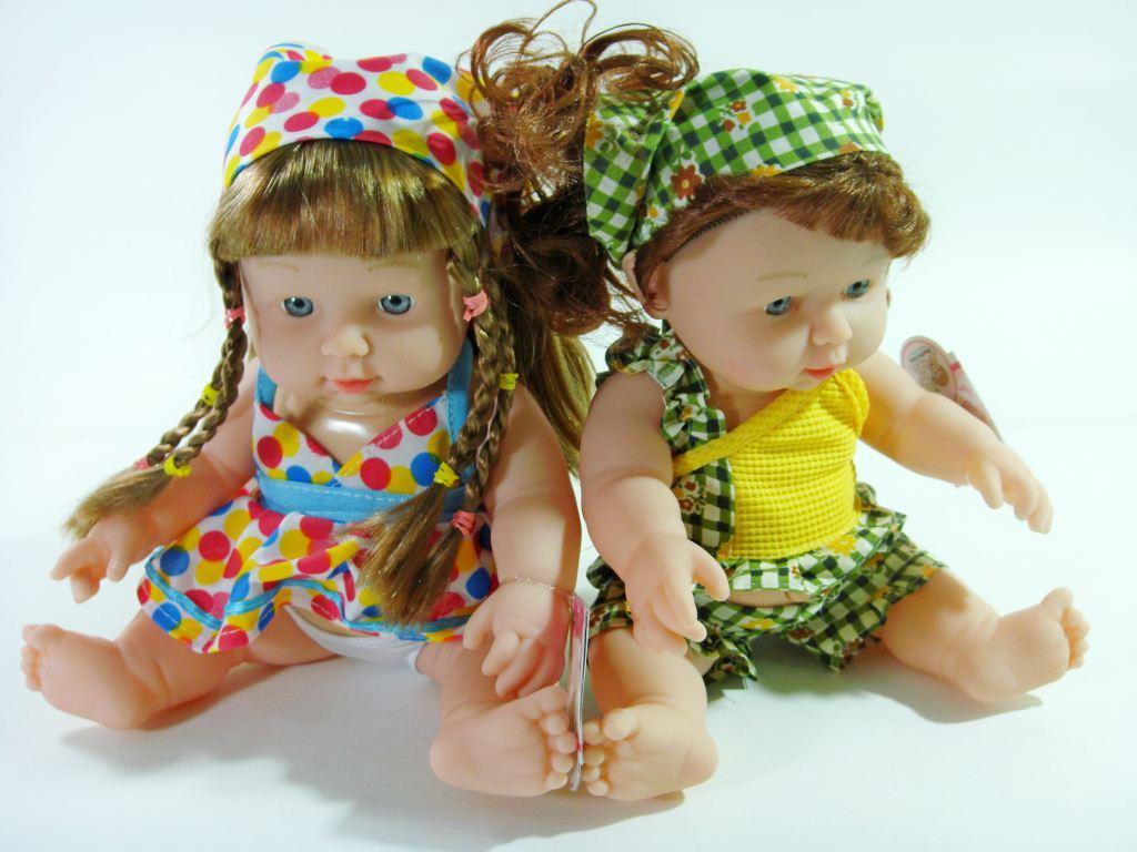 Куклы  с косынкой