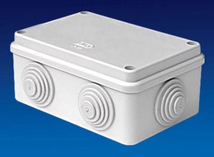 Коробка распаячная для подштукатурного монтажа с клемникоми с крышкой УПрк 100/50.2.1
