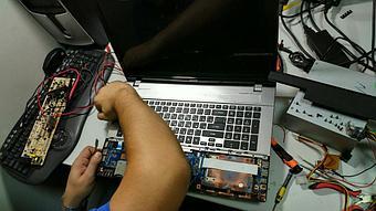 Замена клавиатуры на ноутбуке Acer v3-771. 7